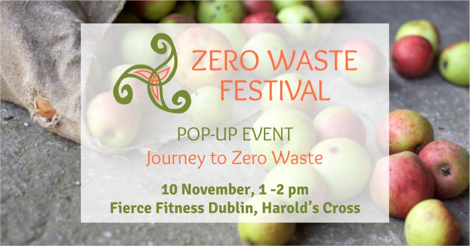 My Journey to Zero Waste – Zero Waste Pop-Up Event