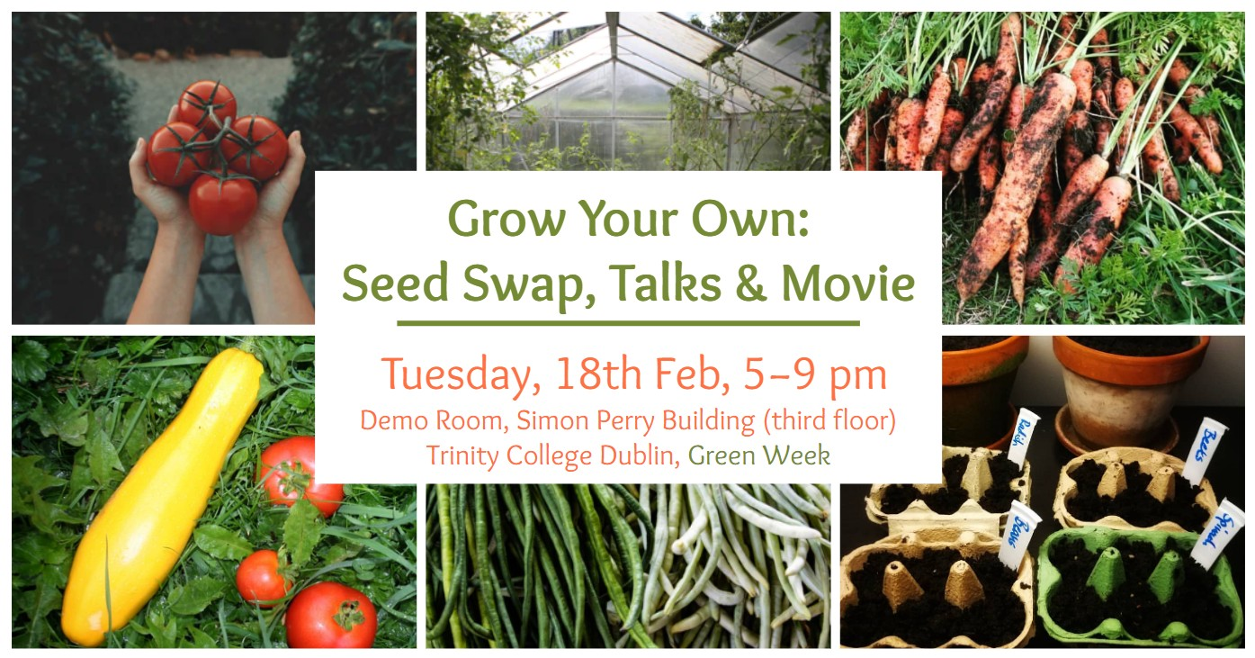 Grow Your Own: Seed Swap, Talks & Movie – Zero Waste Pop-Up Event